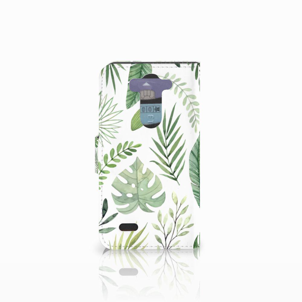 LG G3 S Hoesje Leaves