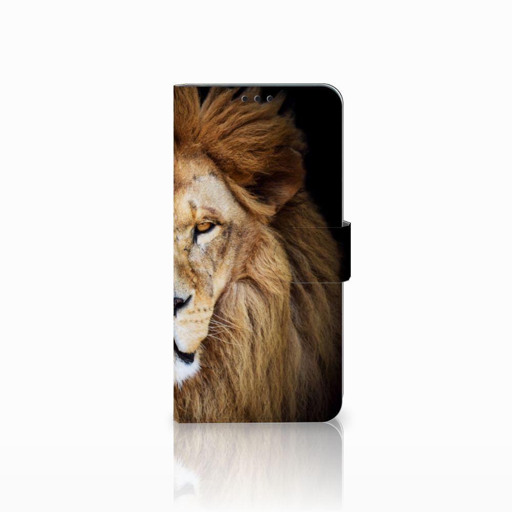 Huawei P Smart Plus Boekhoesje Design Leeuw