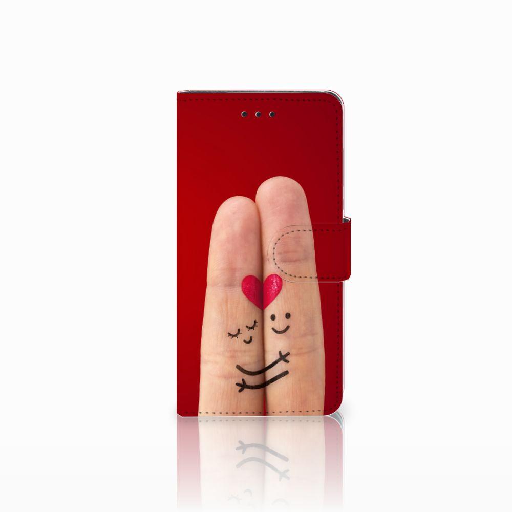 Huawei Y5 2018 Uniek Boekhoesje Liefde