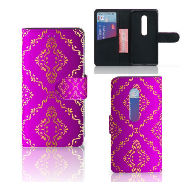 Wallet Case Motorola Moto G 3e Generatie Barok Roze