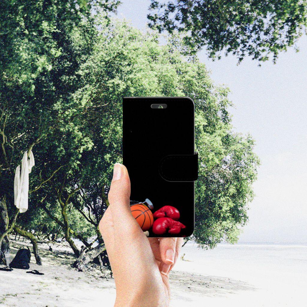 Huawei Ascend Y550 Wallet Case met Pasjes Sports