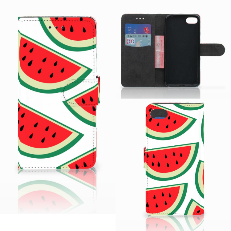 Huawei Y5 2018 Book Cover Watermelons
