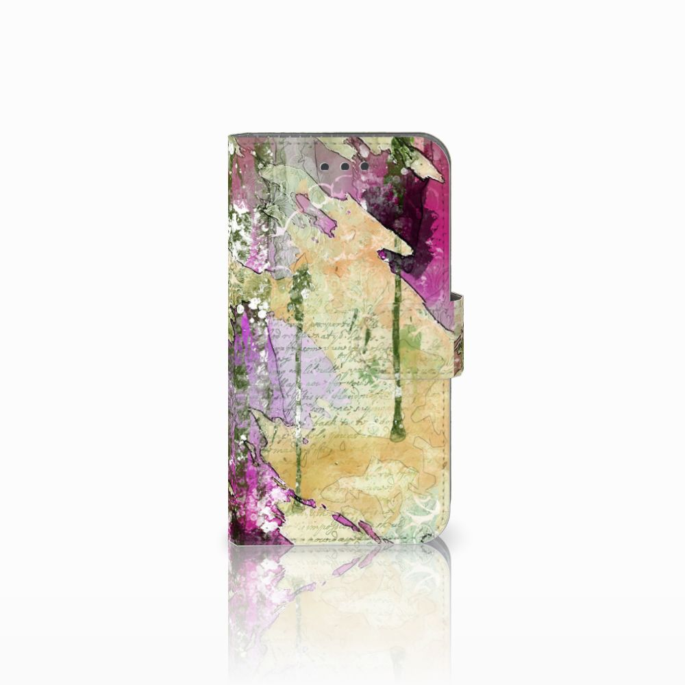 Samsung Galaxy Xcover 3 | Xcover 3 VE Uniek Boekhoesje Letter Painting