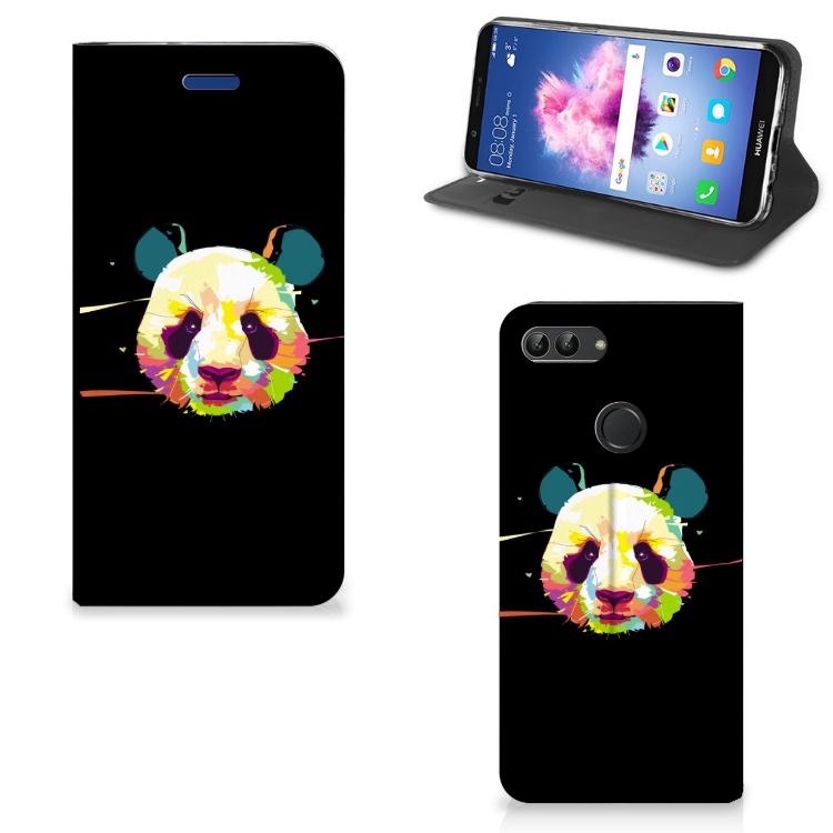 Huawei P Smart Magnet Case Panda Color