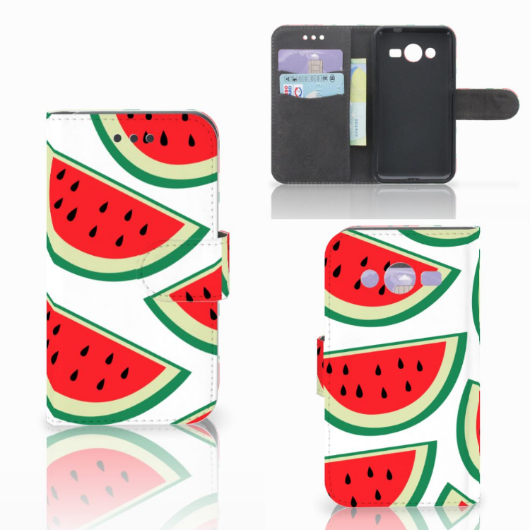 Samsung Galaxy Core 2 Book Cover Watermelons