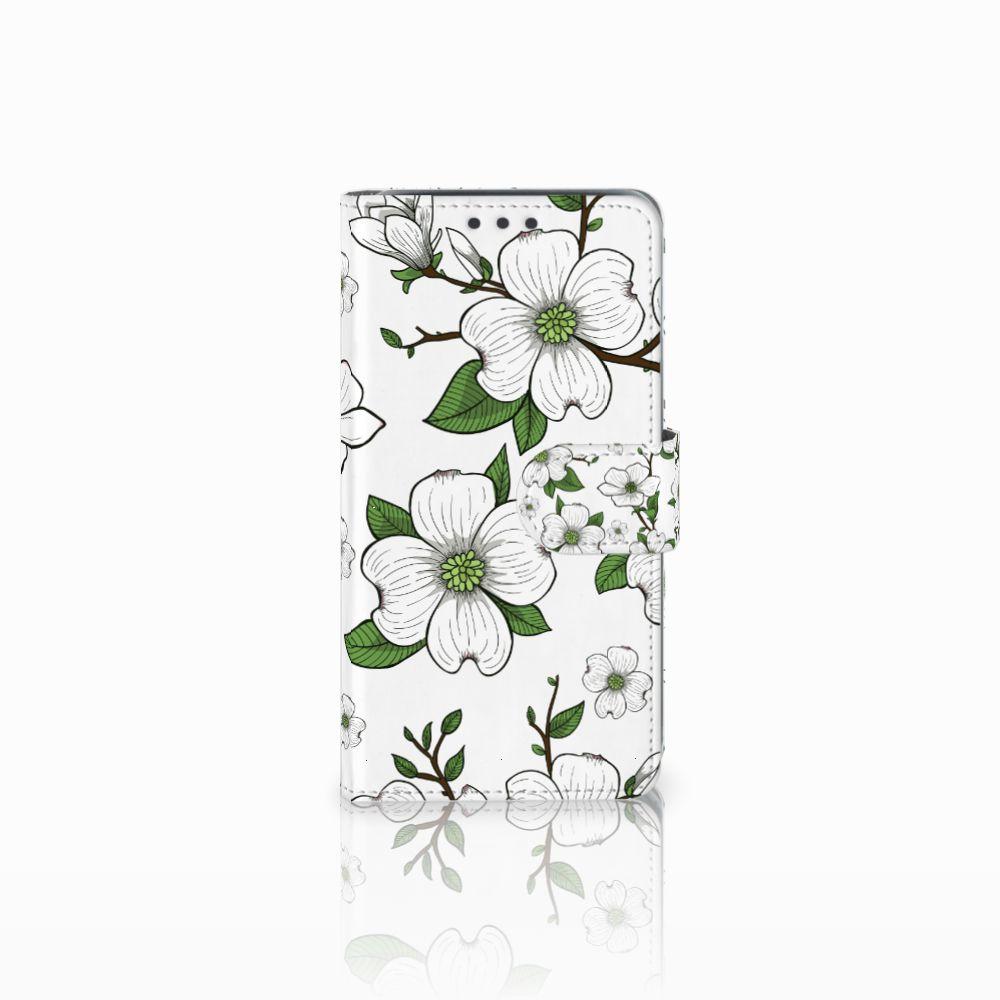Samsung Galaxy J5 (2015) Boekhoesje Design Dogwood Flowers