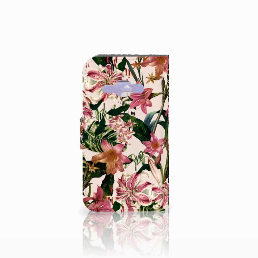 Samsung Galaxy J1 2016 Hoesje Flowers