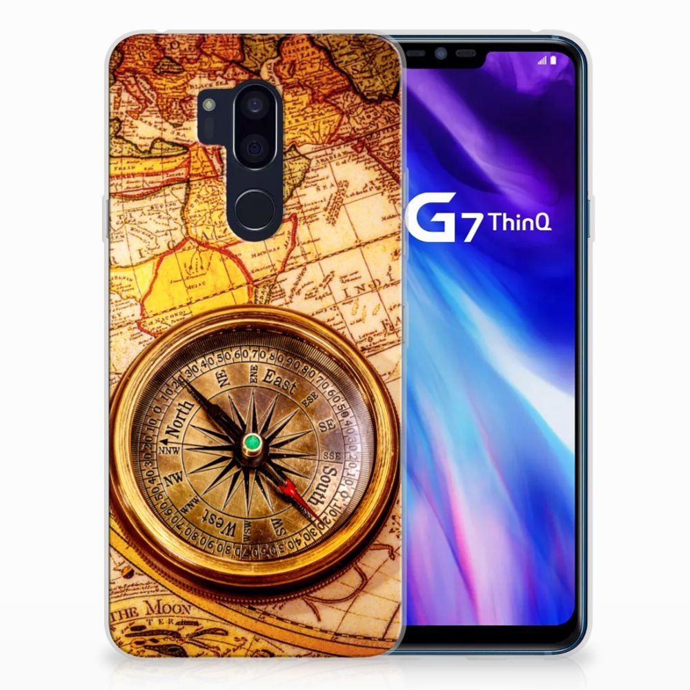 LG G7 Thinq TPU Hoesje Design Kompas