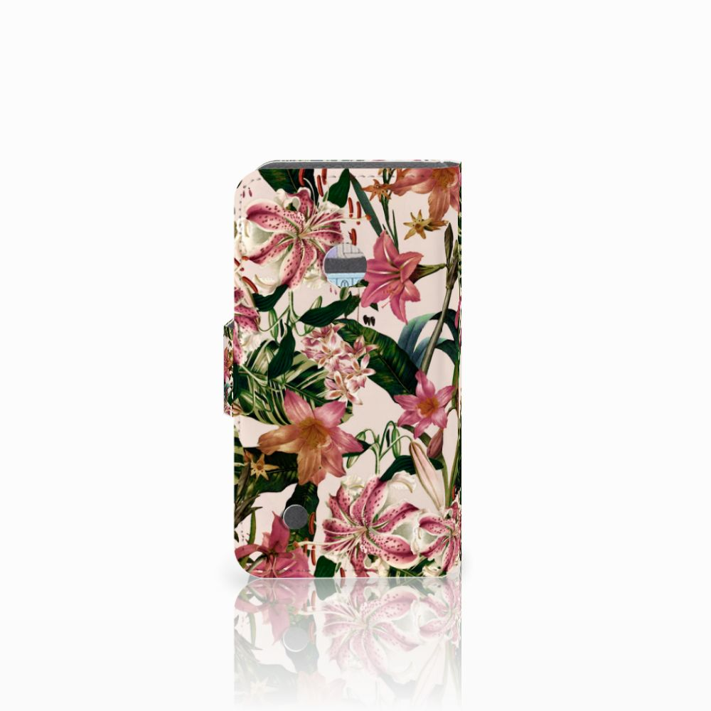 Nokia Lumia 530 Hoesje Flowers