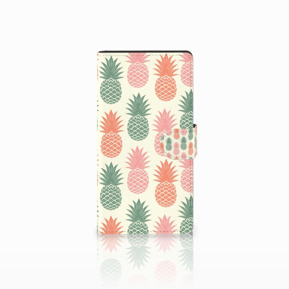 Sony Xperia C4 Boekhoesje Design Ananas