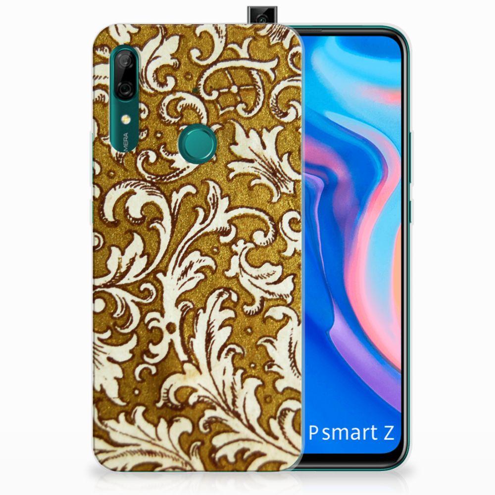 Siliconen Hoesje Huawei P Smart Z Barok Goud
