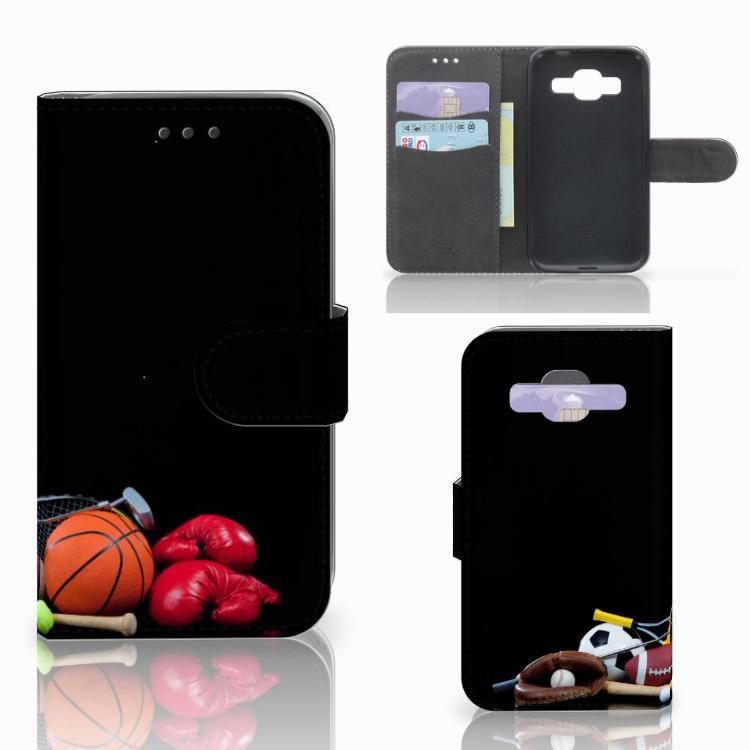Samsung Galaxy Core Prime (SM-G360) Uniek Design Hoesje Sport
