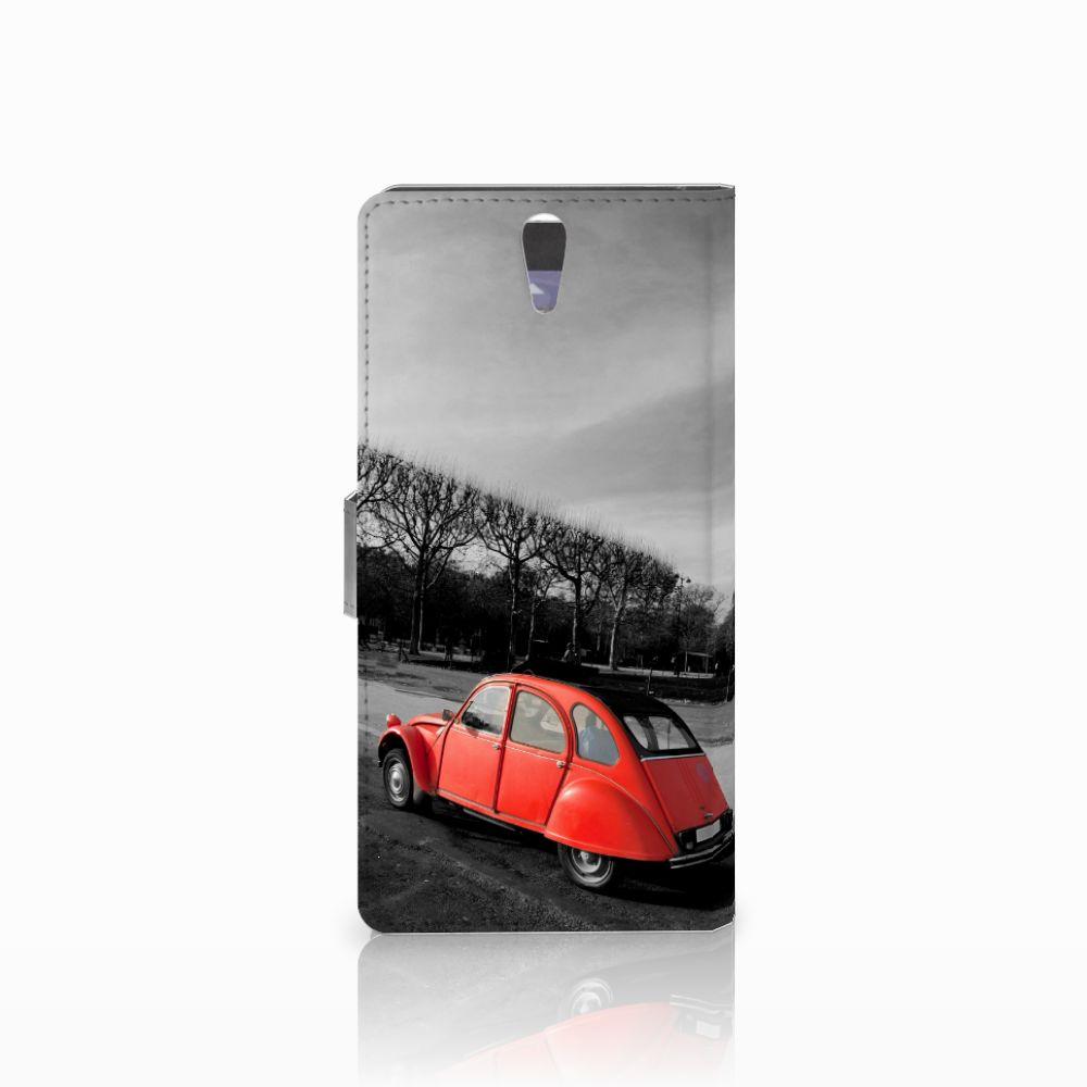 Sony Xperia C5 Ultra Flip Cover Eiffeltoren