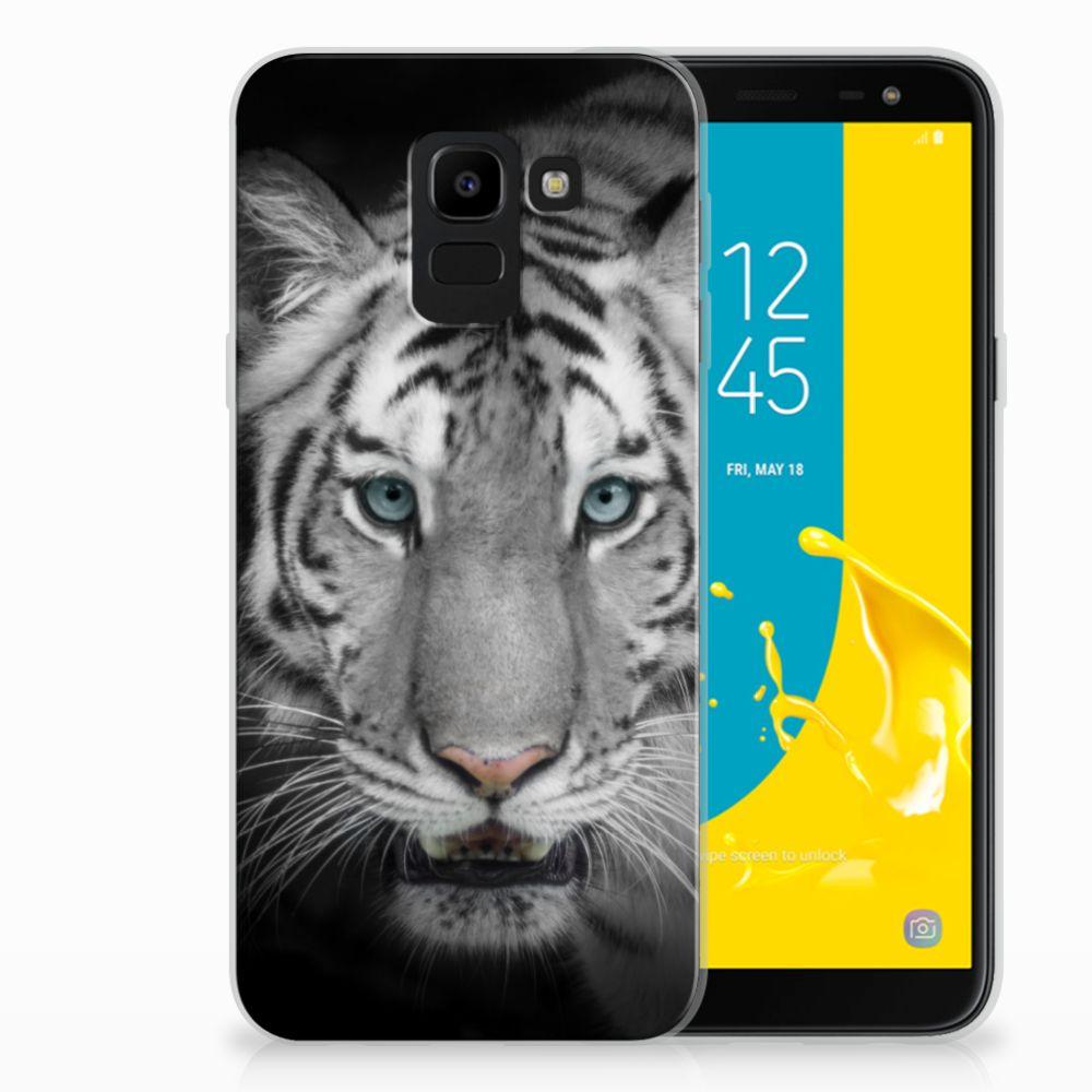 Samsung Galaxy J6 2018 Uniek TPU Hoesje Tijger
