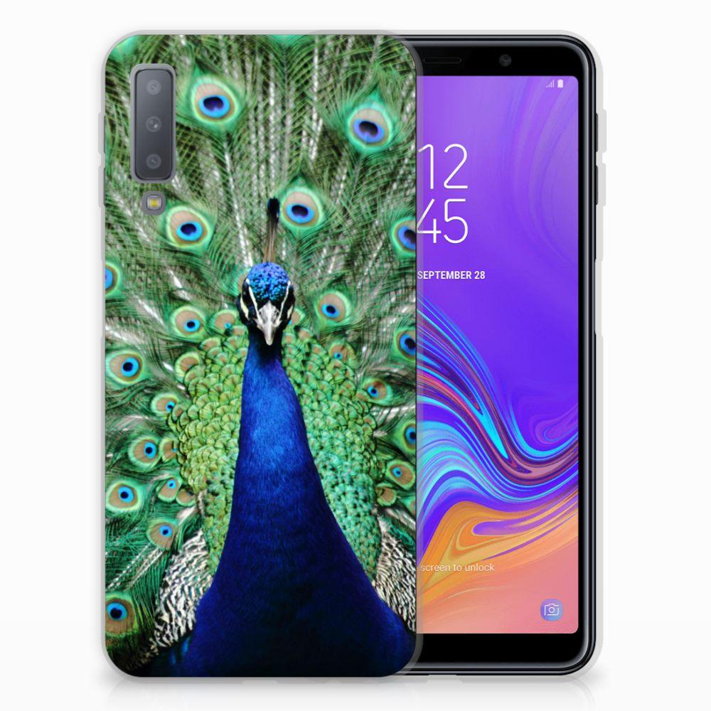 Samsung Galaxy A7 (2018) TPU Hoesje Pauw