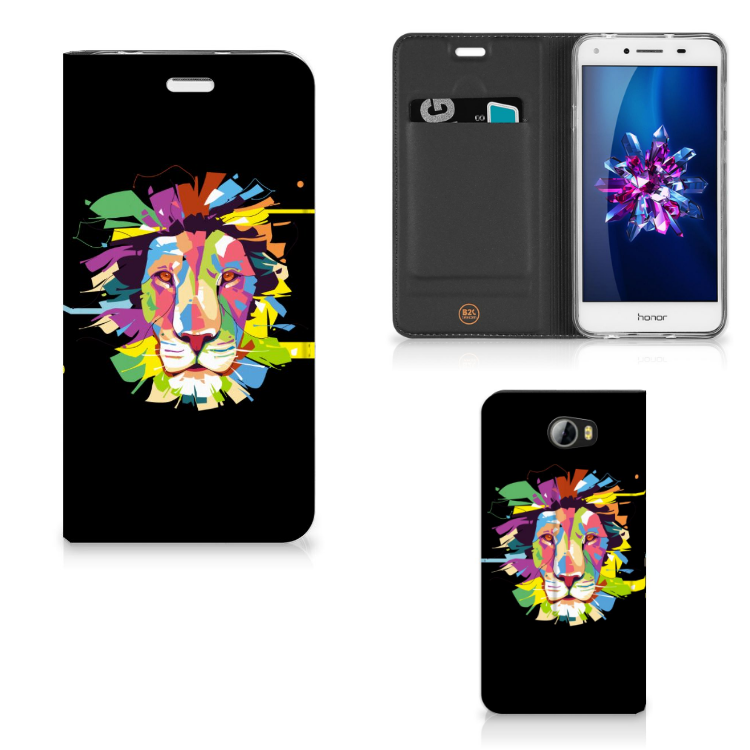 Huawei Y5 2 | Y6 Compact Magnet Case Lion Color
