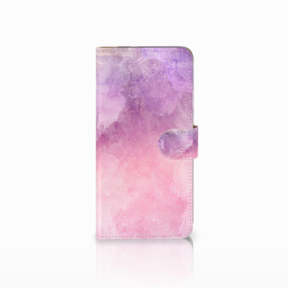 Google Pixel XL Boekhoesje Design Pink Purple Paint
