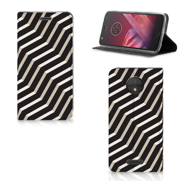 Motorola Moto C Stand Case Illusion