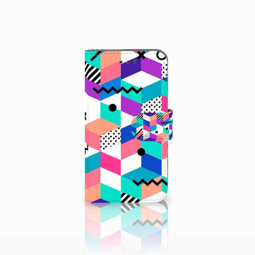 Samsung Galaxy Xcover 3 | Xcover 3 VE Bookcase Blokken Kleurrijk