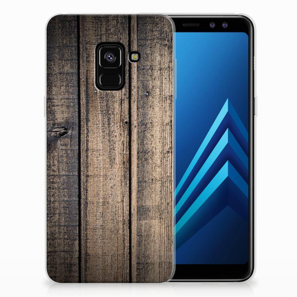 Samsung Galaxy A8 (2018) Bumper Hoesje Steigerhout