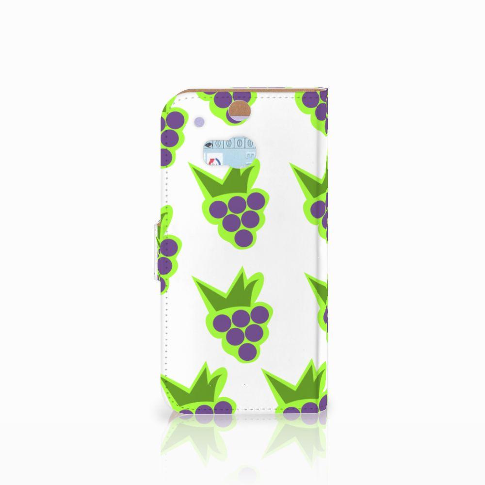 HTC One M8 Book Cover Druiven