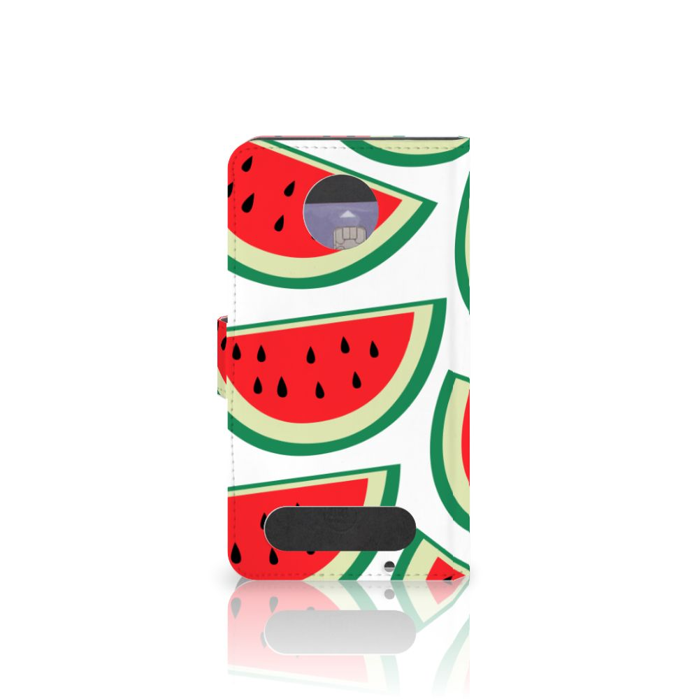 Motorola Moto Z2 Force Book Cover Watermelons