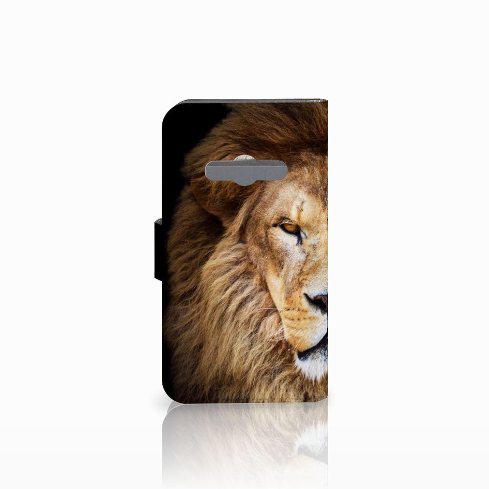 Samsung Galaxy Xcover 3 | Xcover 3 VE Telefoonhoesje met Pasjes Leeuw