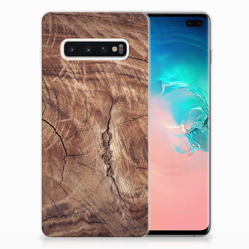 Samsung Galaxy S10 Plus Bumper Hoesje Tree Trunk