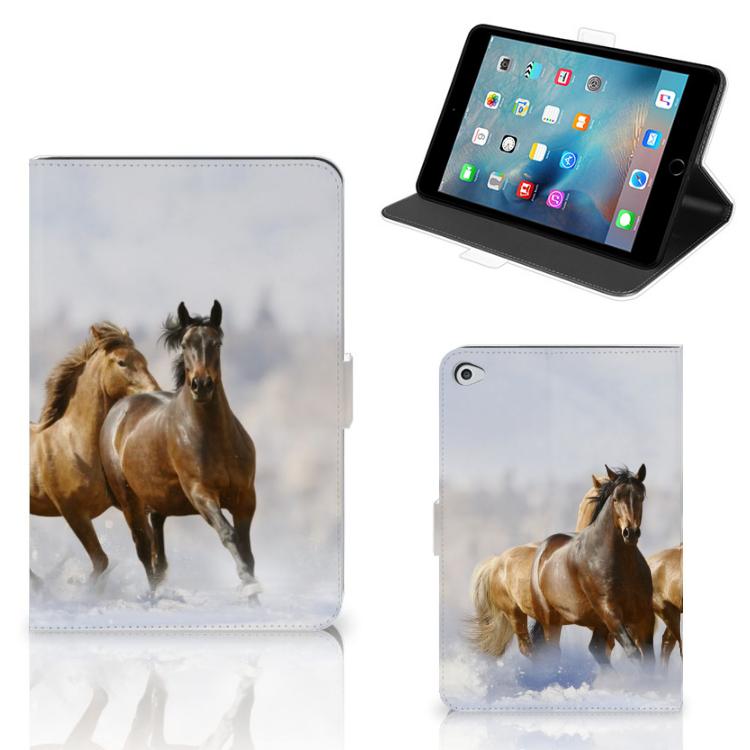 Apple iPad Mini 5 Flip Case Paarden