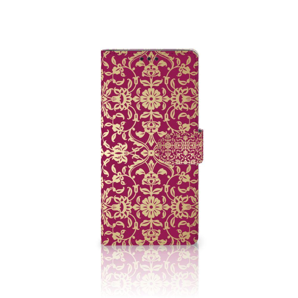 Sony Xperia XA Ultra Boekhoesje Design Barok Pink