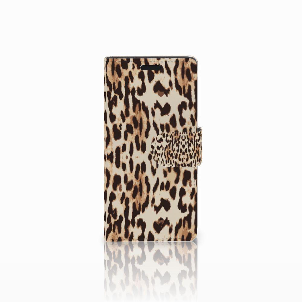 LG Leon 4G Uniek Boekhoesje Leopard