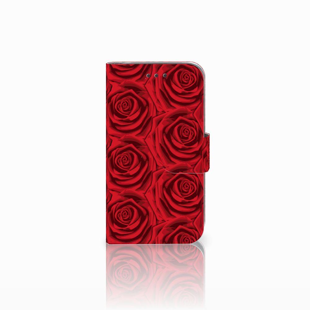 Samsung Galaxy Core Prime Uniek Boekhoesje Red Roses