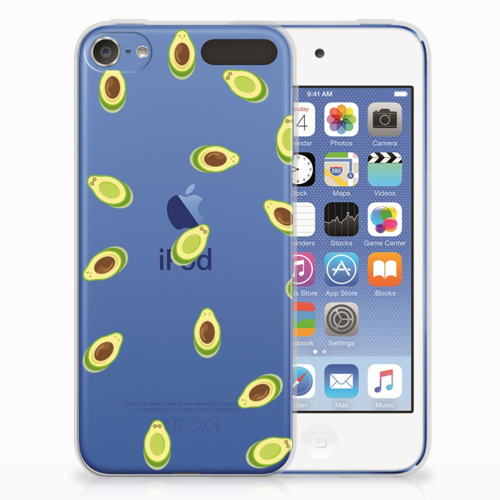 Apple iPod Touch 5 | 6 Siliconen Case Avocado