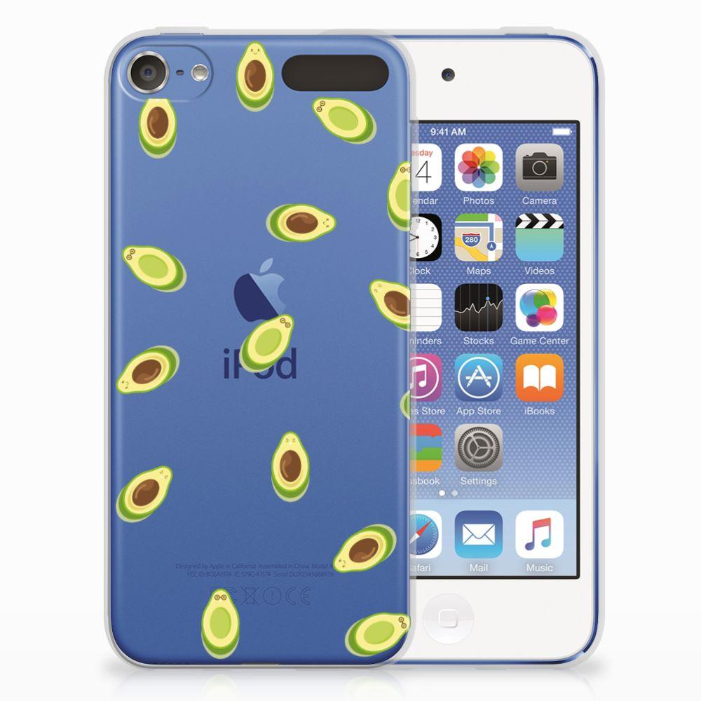 Apple iPod Touch 5 | 6 Siliconen Case Avocado