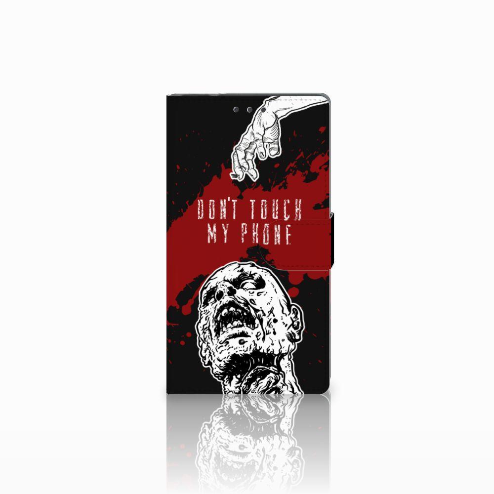 Samsung Galaxy Note 4 Boekhoesje Design Zombie Blood