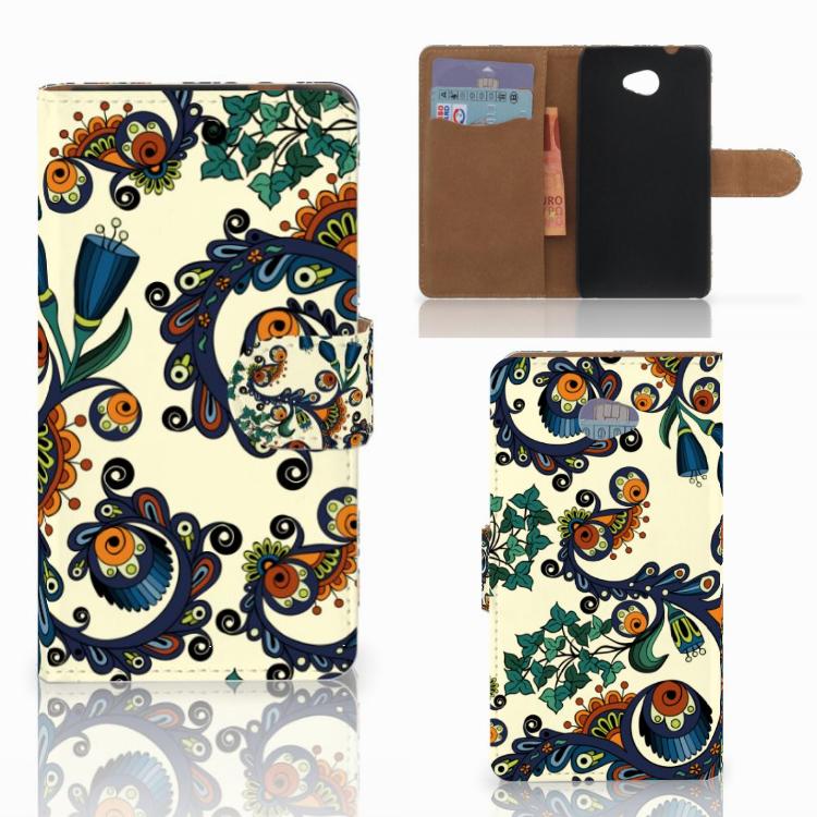 Wallet Case HTC Desire 601 Barok Flower