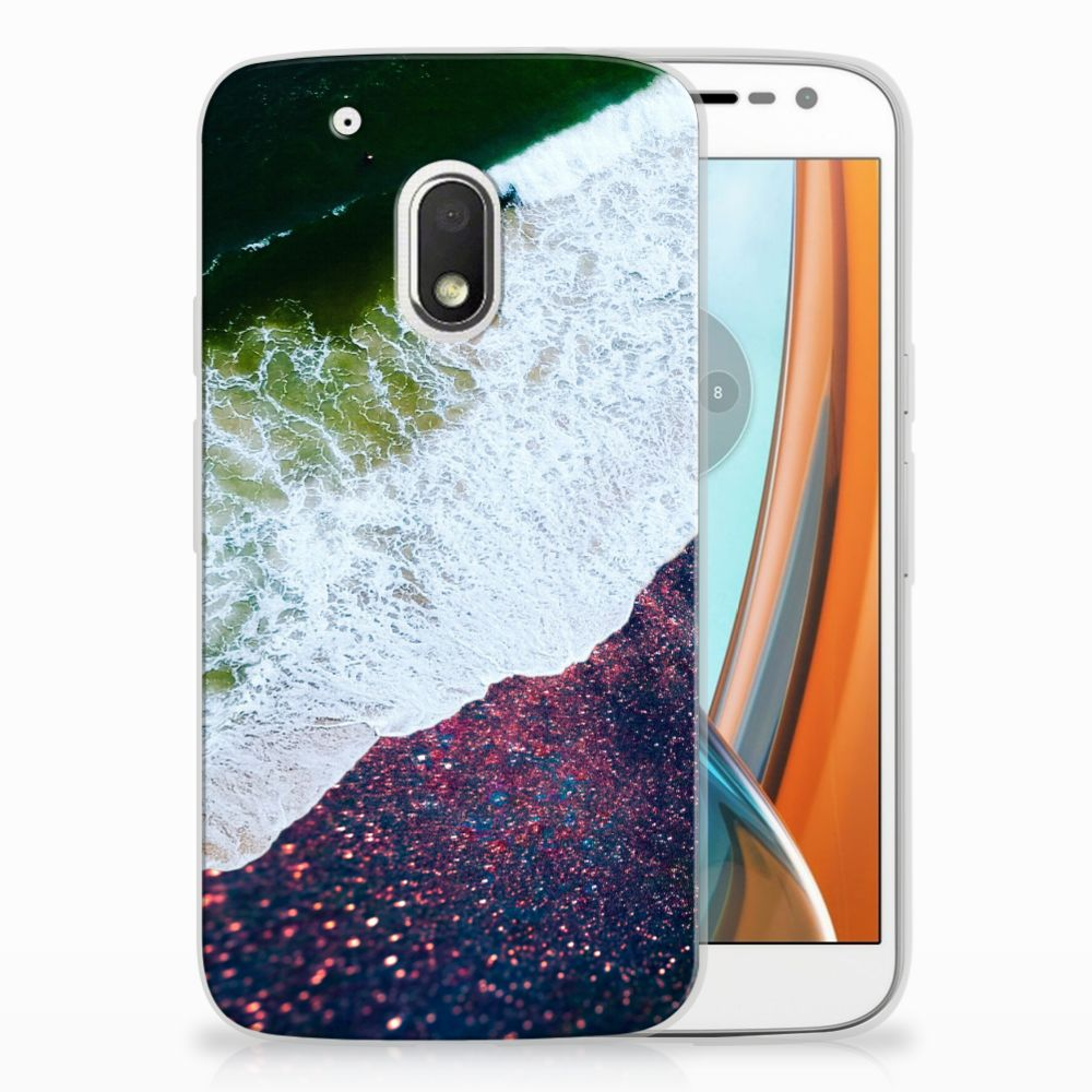 Motorola Moto G4 Play TPU Hoesje Design Sea in Space