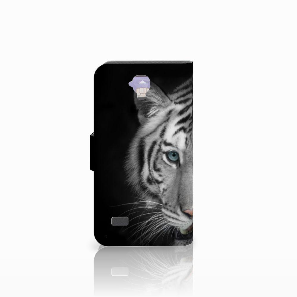 Huawei Y5 Y560 Telefoonhoesje met Pasjes Tijger