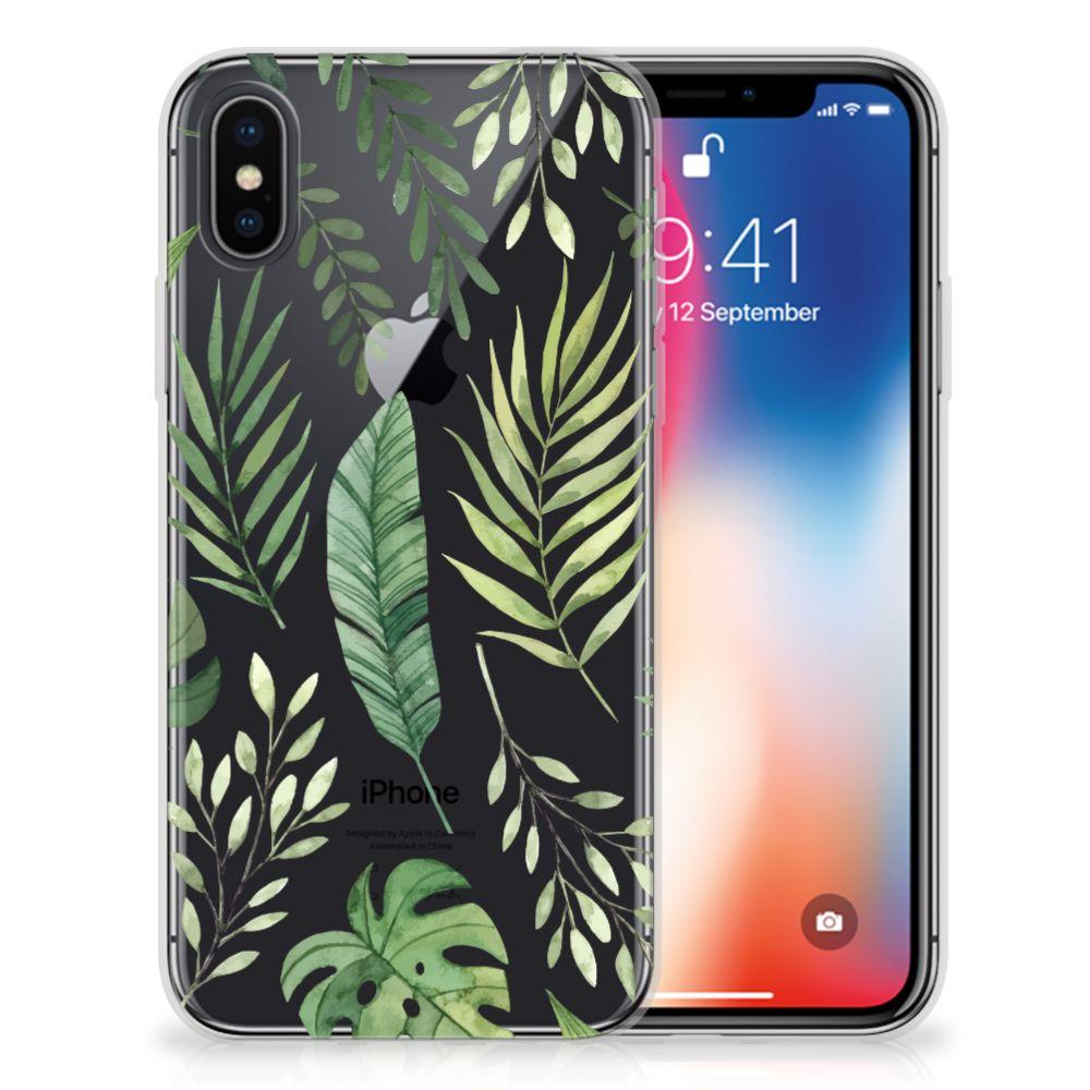 Apple iPhone X | Xs TPU Case Leaves