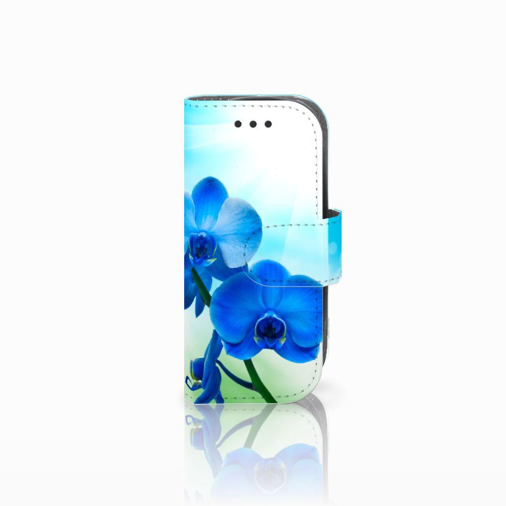 Nokia 3310 (2017) Boekhoesje Design Orchidee Blauw