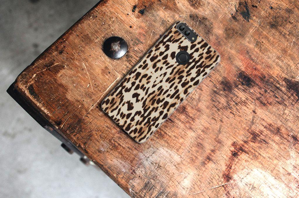 f2a044d7571 Huawei P Smart TPU Hoesje Leopard