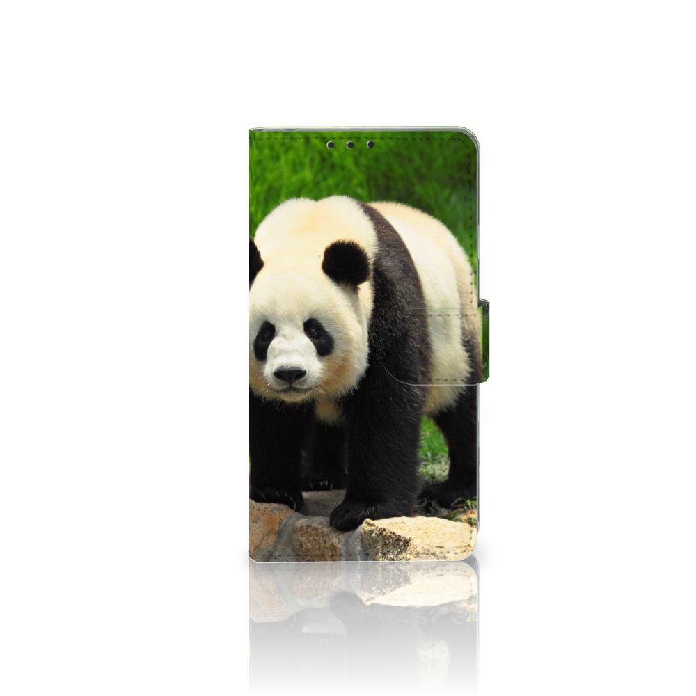 Sony Xperia Z1 Telefoonhoesje met Pasjes Panda