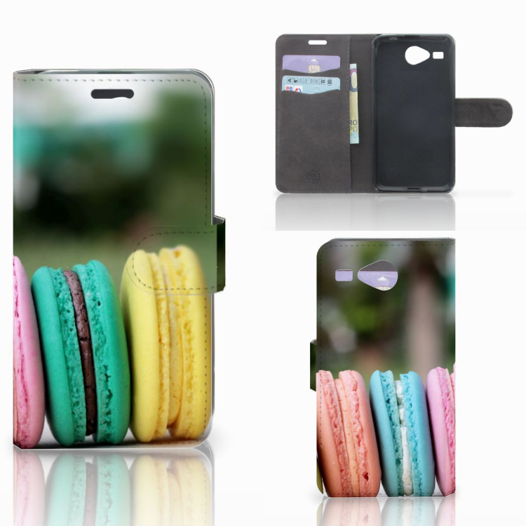 Acer Liquid Z520 Book Cover Macarons