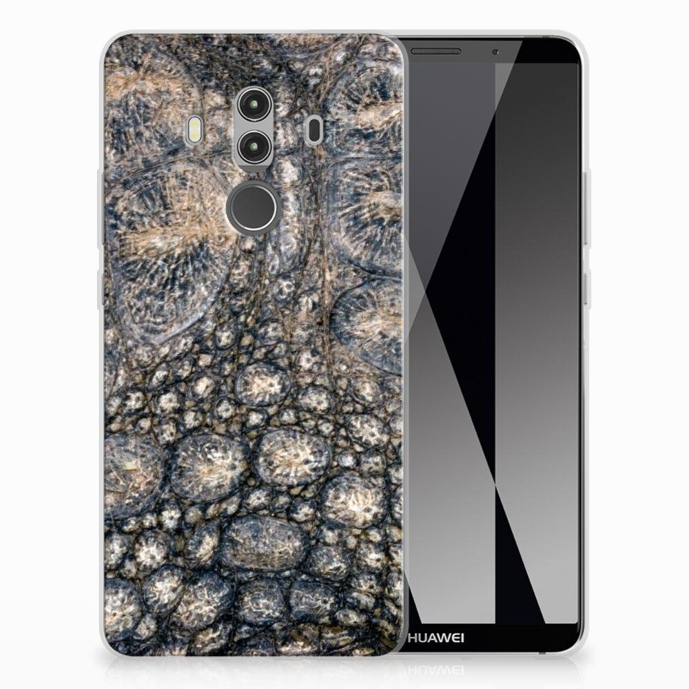 Huawei Mate 10 Pro Uniek TPU Hoesje Krokodillenprint