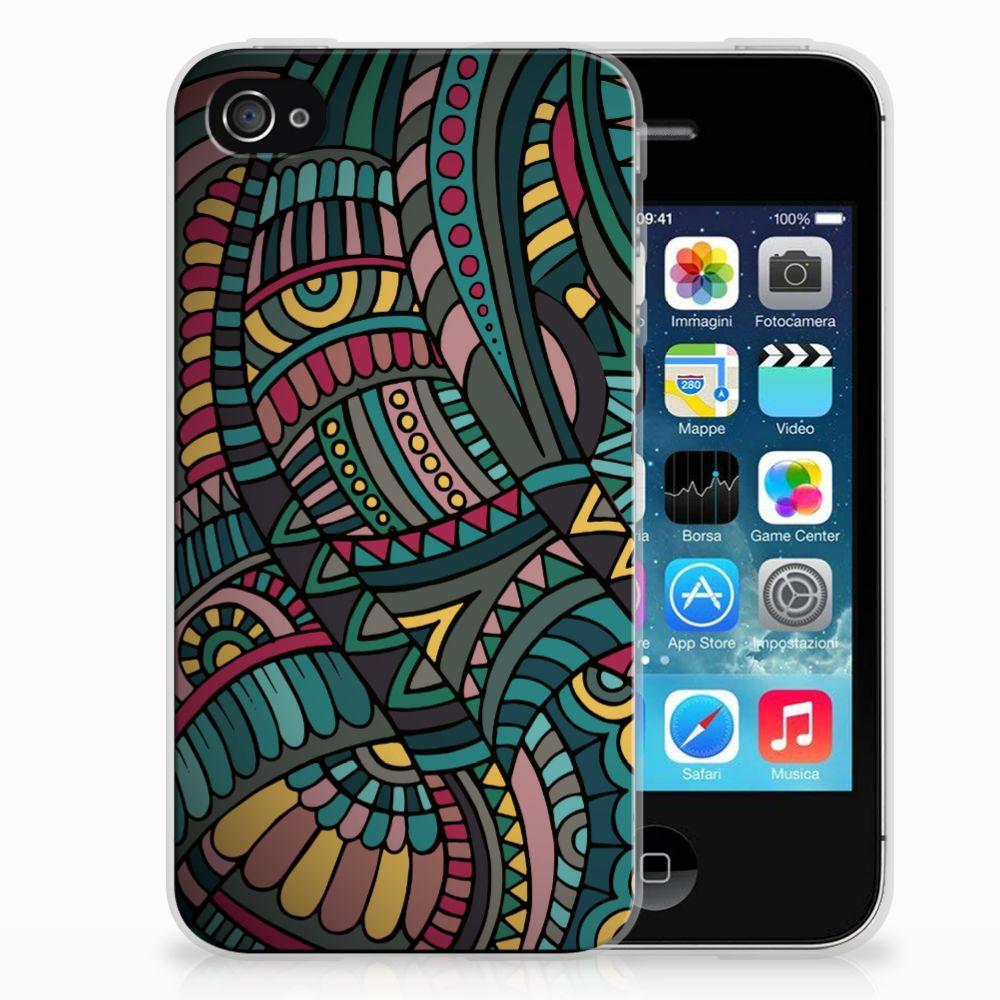 Apple iPhone 4 | 4s TPU bumper Aztec