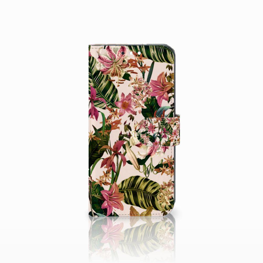 Huawei Mate 10 Lite Uniek Boekhoesje Flowers