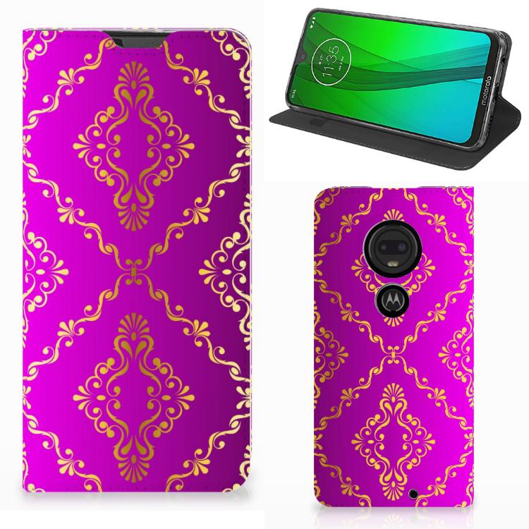 Telefoon Hoesje Motorola Moto G7 | G7 Plus Barok Roze