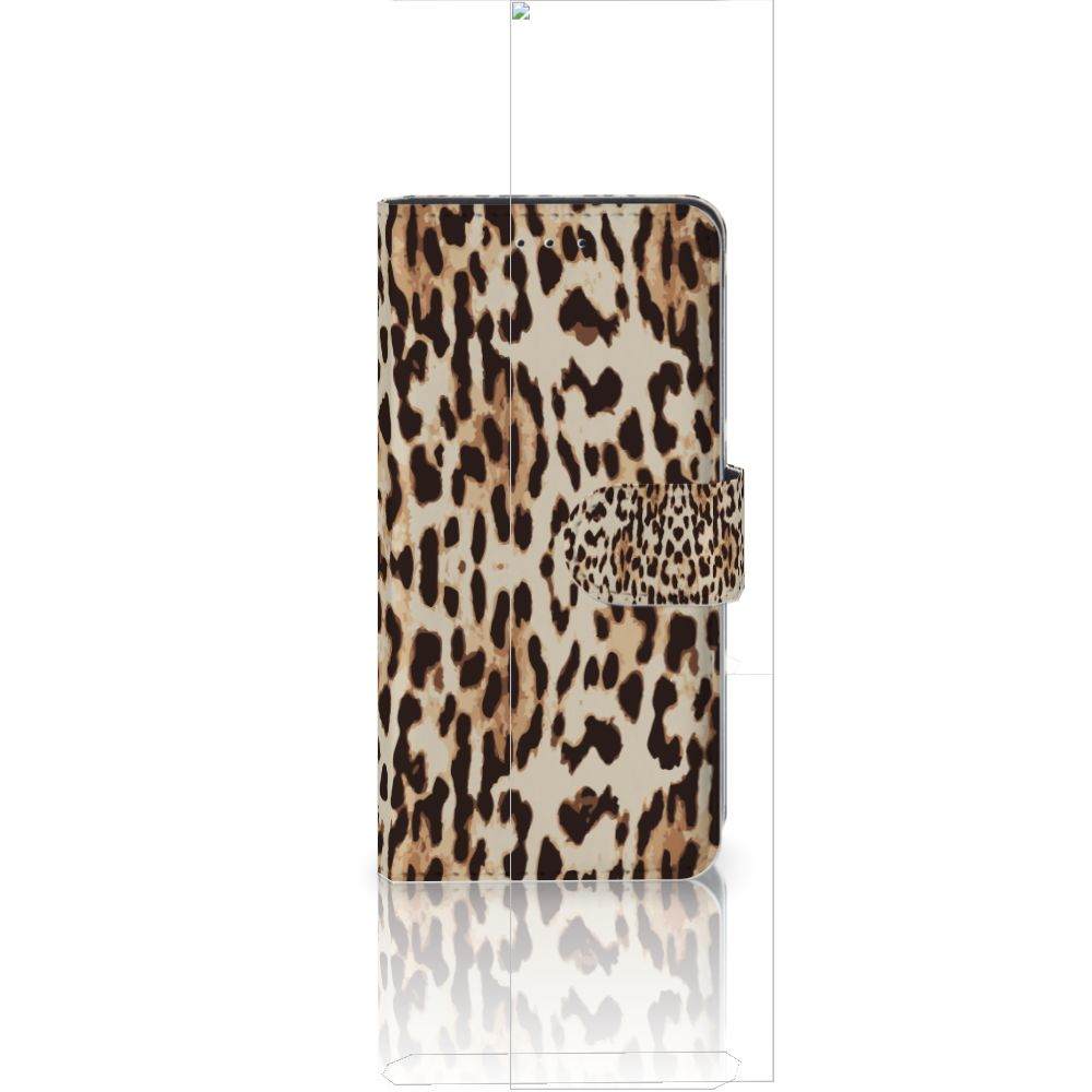 Huawei P20 Uniek Boekhoesje Leopard