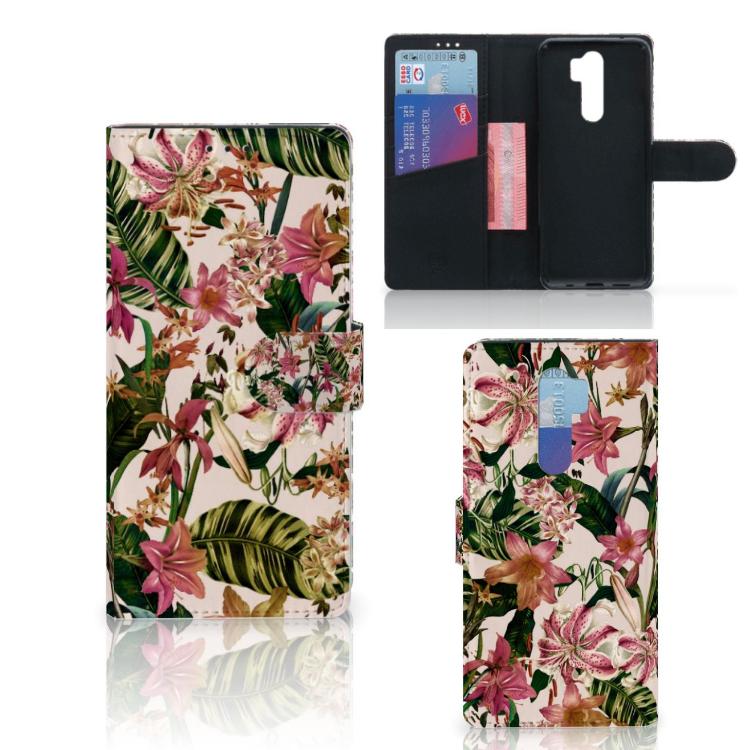 Xiaomi Note 8 Pro Hoesje Flowers