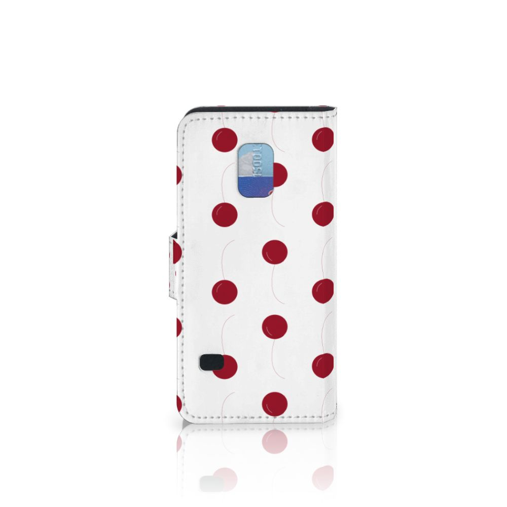 Samsung Galaxy S5 Mini Book Cover Cherries